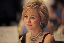 Actress Naomi Watts is seen portraying Princess Diana in a photograp