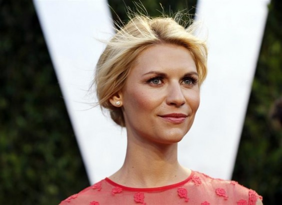 Actress Claire Danes arrives at the 2012 Vanity Fair Oscar party in West Hollywood, California February 26, 2012.
