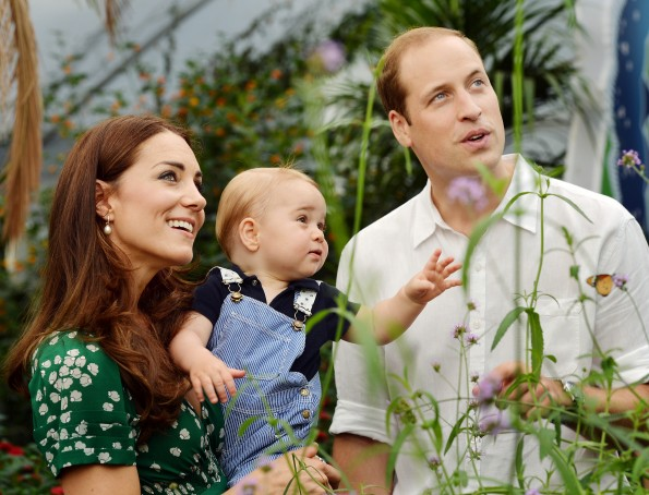 Prince George Kate Middleton and Prince George