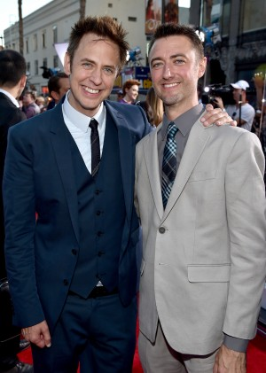James Gunn and Sean Gunn