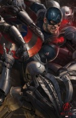 Captain America Avengers Age of Ultron poster