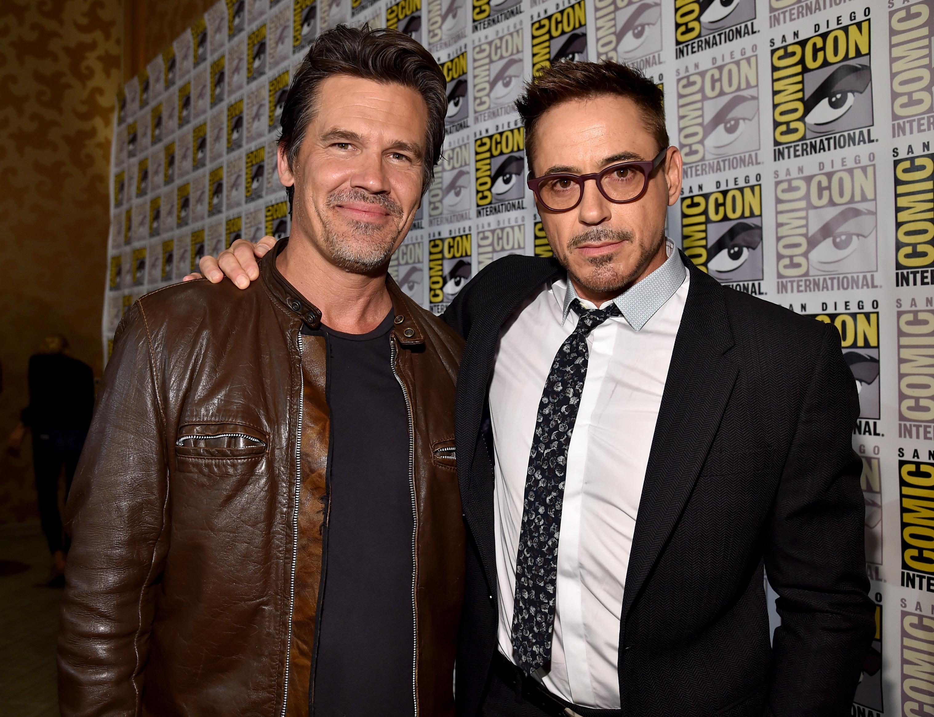Robert Downey Jr Son Name Josh Brolin And Robert Downey Jr