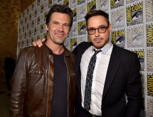Josh Brolin and Robert Downey Jr.