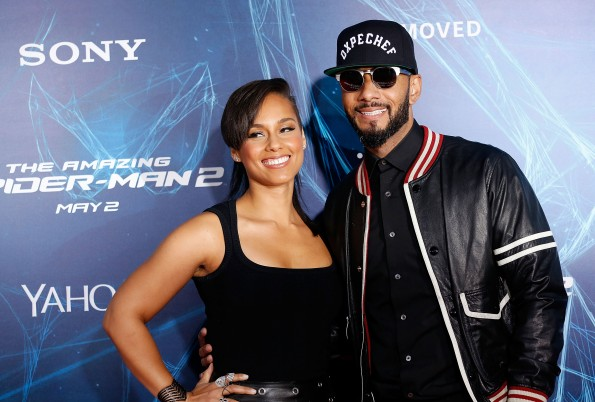 Alicia Keys and musician Swizz Beatz