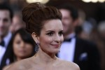 Actress Tina Fey arrives at the 84th Academy Awards in Hollywood, California, February 26, 2012.