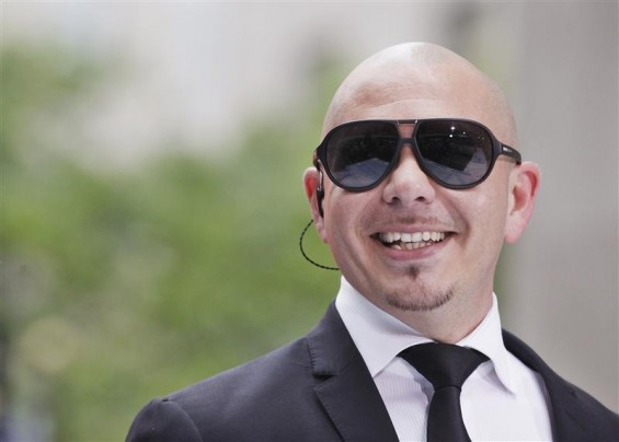 Singer Pitbull performs on NBC&#039;s &#039;Today&#039; show in New York, May 25, 2012.