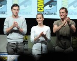 Nicholas Hoult, actress Jennifer Lawrence and actor Michael Fassbender