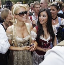 Paris Hilton and Kim Kardashian