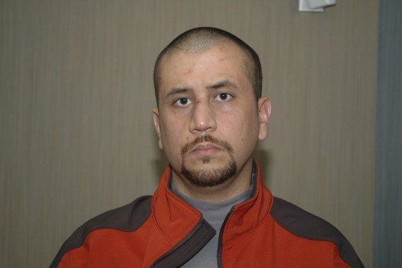Undated handout photo shows George Zimmerman shortly after he killed Trayvon Martin, in Sanford, Florida. Zimmerman is charged in the shooting death of the 17-year-old during a confrontation in a gated community on February 26, 2012.