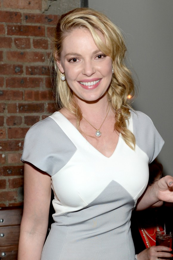 Katherine Heigl attends the 2014 CAA Upfronts party on May 12, 2014 in ...