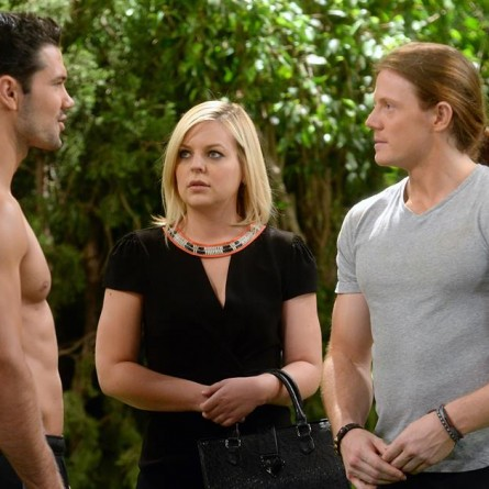 Maxie, Nathan and Levi on 'General Hospital'