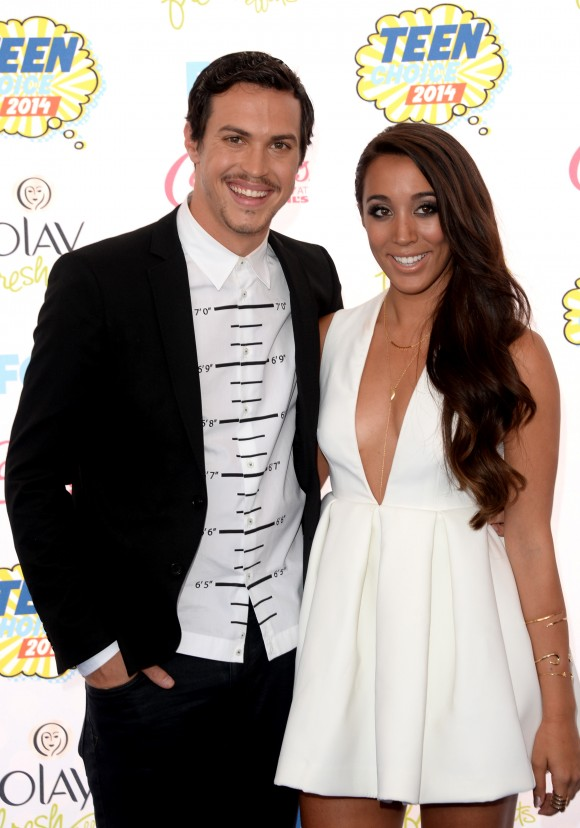 Singer Alex Kinsey and Sierra Deaton of Alex & Sierra attend FOX's