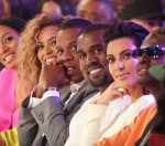 Solange Knowles, Beyonce, Jay Z, Kanye West and Kim Kardashian