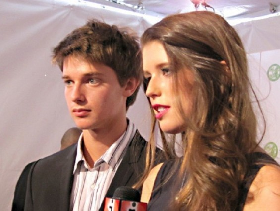 Patrick Schwarzenegger and Katherine Schwarzenegger