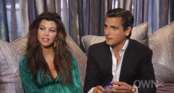 Kourtney and Scott on OWN