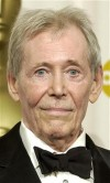 Actor Peter O' Toole was awarded an honorary Oscar for lifetime acheivement during the 75th Annual Academy Awards at the Kodak Theatre in Hollywood, California, March 23, 2003.