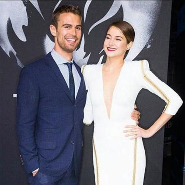 Does Theo James Have A Girlfriend Theo james and shailene