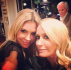 Kim Richards and Brandi Glanville