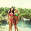 Paulina Gretzky (right) Kimberly Alexis Howe (left)