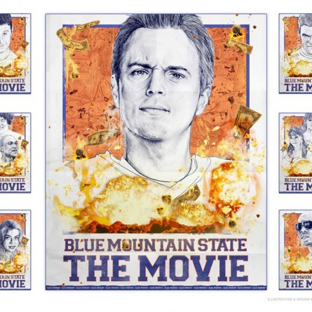 Blue Mountain State: The Movie Poster