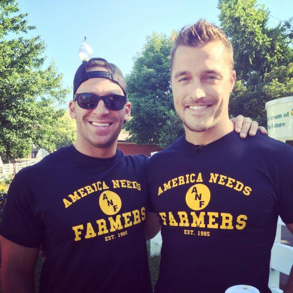 Cody sattler and chris soules of the bachelorette photo facebook