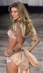 Brazilian supermodel Gisele Bundchen