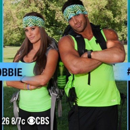 Robbie Strauss and Brooke Adams of 'The Amazing Race' 25