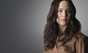Jennifer Lawrence in Hunger Games Mockingjay Part 1