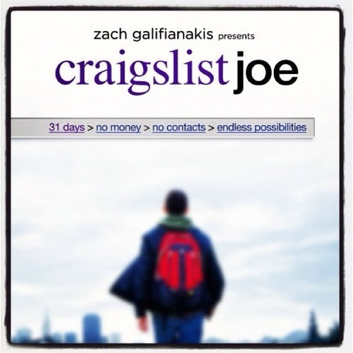 "Upcoming documentary ""Craigslist Joe"""