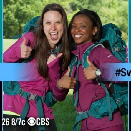 Amy DeJong and Maya Warren on 'The Amazing Race' Season 25
