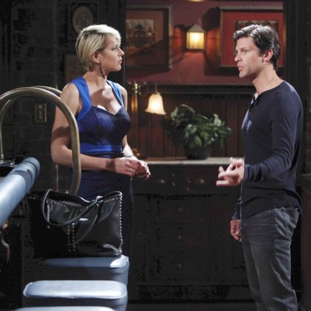Nicole urges Eric to go back on his word and testify against Kristen on the September 23, 2014 episode of 'Days of Our Lives'