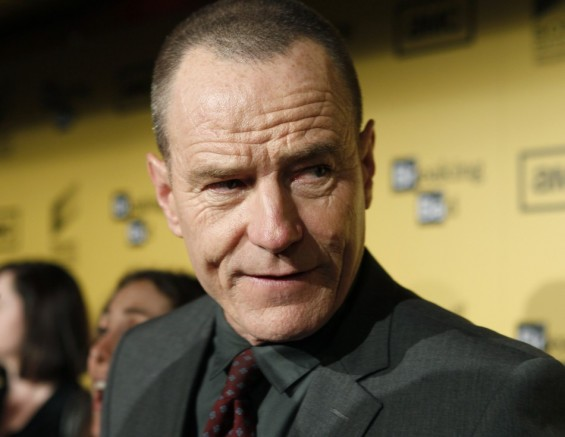 "Actor Cranston of ""Breaking Bad"""
