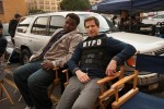 Andy Samberg and Craig Robinson as The Pontiac Bandit & Jake Peralta On 'Brooklyn Nine-Nine'