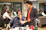 Jake (Andy Samberg) and Amy (Melissa Fumero) on 'Brooklyn Nine-Nine'