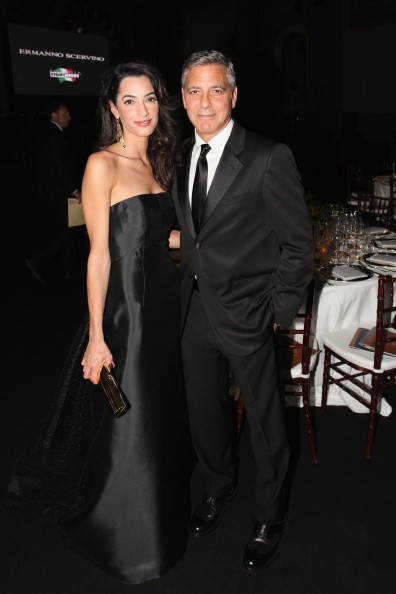George and amal clooney pregnancy news couple is reportedly fighting