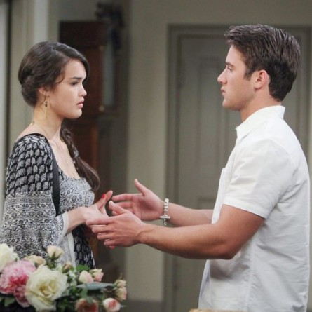 JJ freaks out when Paige confides what she overheard on the September 29, 2014 episode of 'Days of Our Lives'