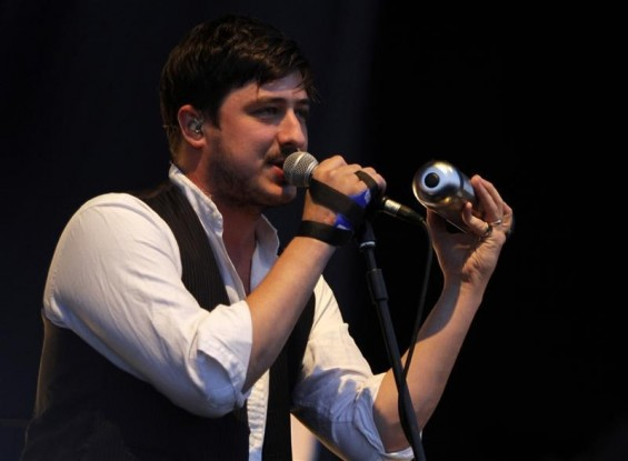 Marcus Mumford of British folk rock band Mumford and Sons performs at the Optimus Alive Festival in Alges, on the outskirts of Lisbon July 14, 2012.