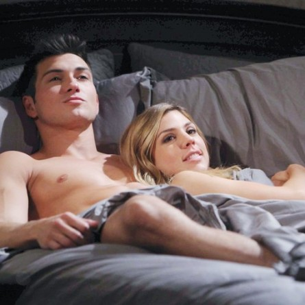 Ben and Abigail make love for the first time on the October 2, 2014 episode of 'Days of Our Lives'