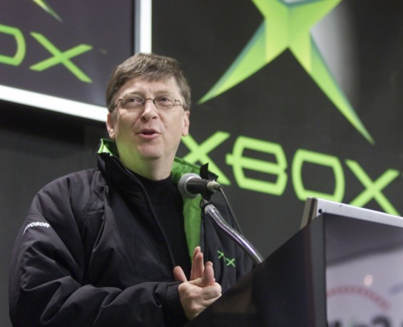 Bill Gates At An XBox Conference