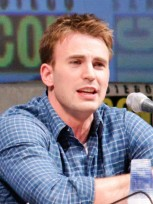 """Captain America"" star Chris Evans"