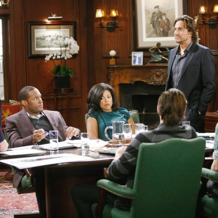 Eric will make his decision between Rick and Ridge on the October 23, 2014 episode of 'The Bold and the Beautiful'