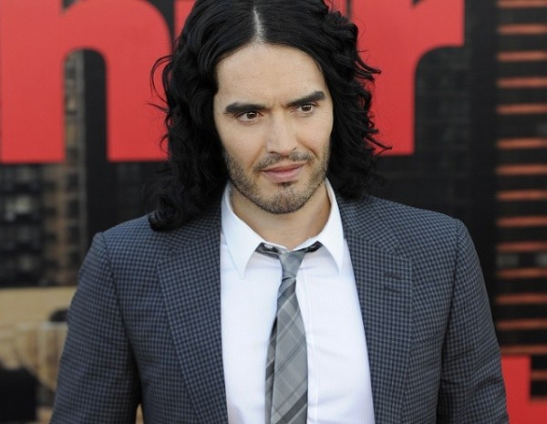 Russell Brand arrives for the European premiere of the film 'Arthur' in London April 19, 2011.