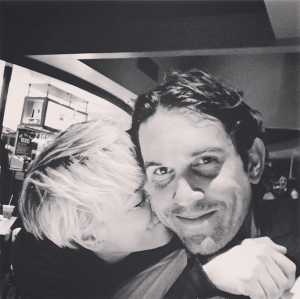 Kaley Cuoco-Sweeting & Ryan Sweeting in an Oct. 10 Instagram Photo
