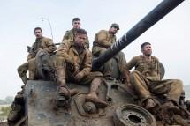 Brad Pitt, Fury cast