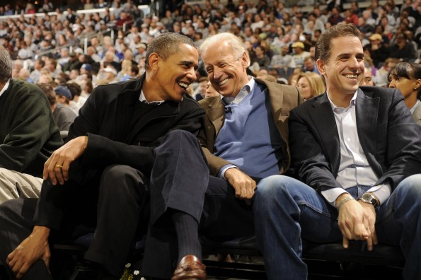 Barack Obama, Vice President Joe Biden, Hunter Biden