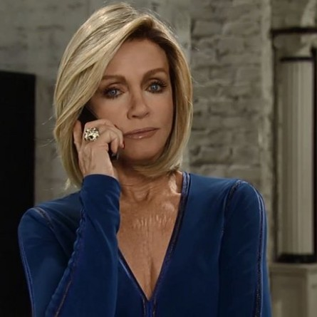 Madeline calls in some favors to help Nina on the October 21, 2014 episode of 'General Hospital'