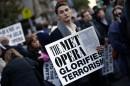 Protestors at New York Met Opera