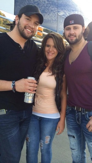 Lauren White of 'Party Down South' with Lil' Bit's ex-boyfriend Grant Meredith