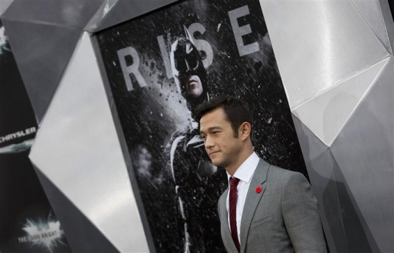 "Cast member Joseph Gordon-Levitt attends the world premiere of the movie ""The Dark Knight Rises"" in New York July 16, 2012."