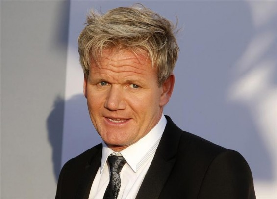 Chef Gordon Ramsay arrives at the BAFTA Brits to Watch event in Los Angeles, California July 9, 2011.